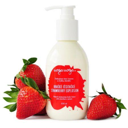 Strawberry explosion | Body creams | Natural cosmetics | Uoga Uoga