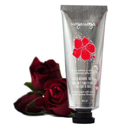 Couldn't find flowers, so I got u this... | Hand creams | Natural cosmetics | Uoga Uoga