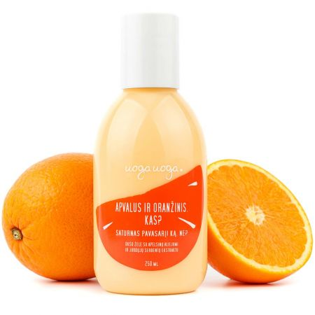 Round and orange. What's that? | Shower gels | Natural cosmetics | Uoga Uoga