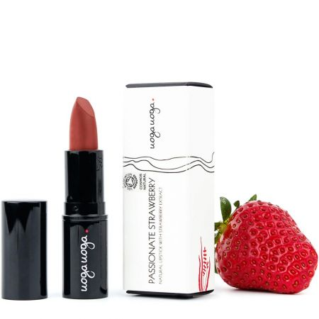 Passionate Strawberry | Lips | Natural cosmetics | Uoga Uoga