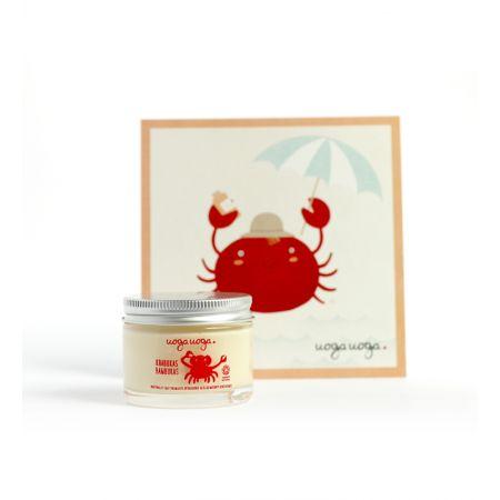 Crab in cool hat   Natural cosmetics   Uoga Uoga