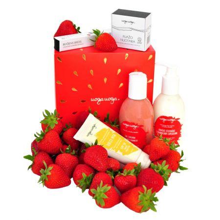 STRAWBERRY BOOM! | BEAUTY BOX | Natural cosmetics | Uoga Uoga