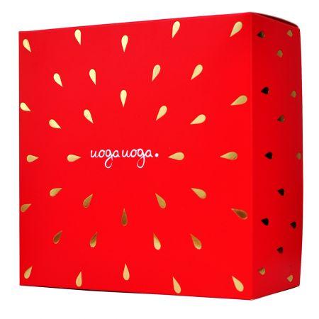 Strawberry box   Gift boxes   Natural cosmetics   Uoga Uoga