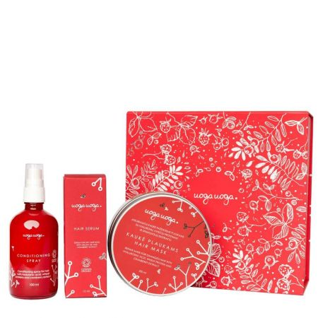 Home SPA for hair | Gift sets | Natural cosmetics | Uoga Uoga