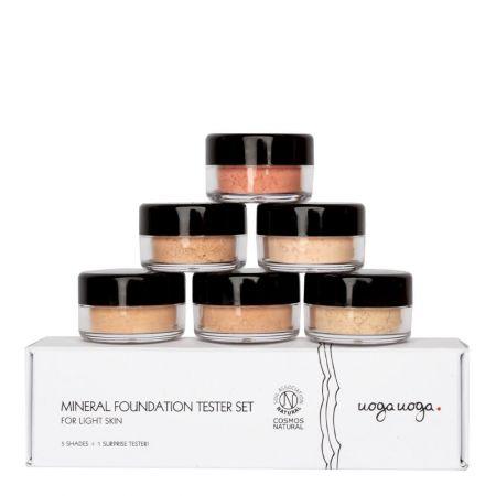 Foundation tester set   Gift sets   Natural cosmetics   Uoga Uoga