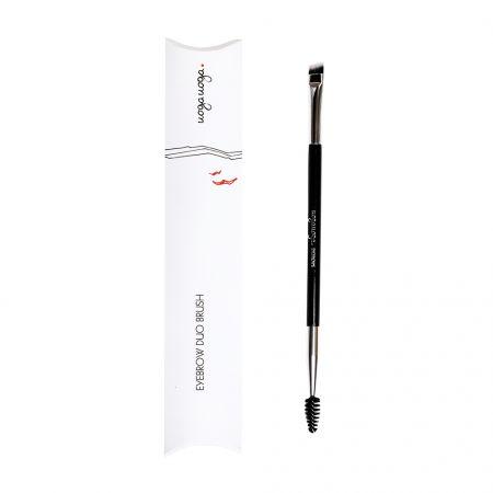 Eyebrow duo brush | Eyebrows | Natural cosmetics | Uoga Uoga