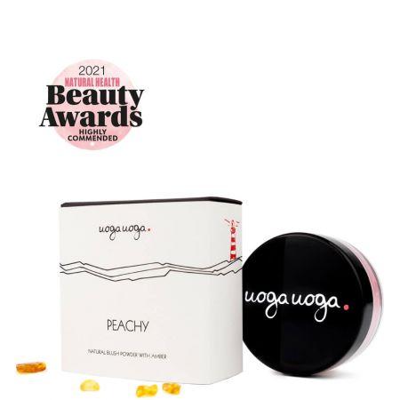 Peachy   Blush   Natural cosmetics   Uoga Uoga