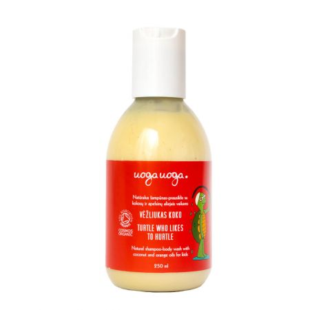 Turtle who likes to hurtle | Shower gels | Natural cosmetics | Uoga Uoga