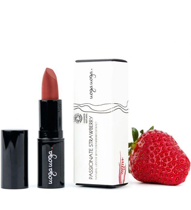 Passionate Strawberry   Lips   Natural cosmetics   Uoga Uoga