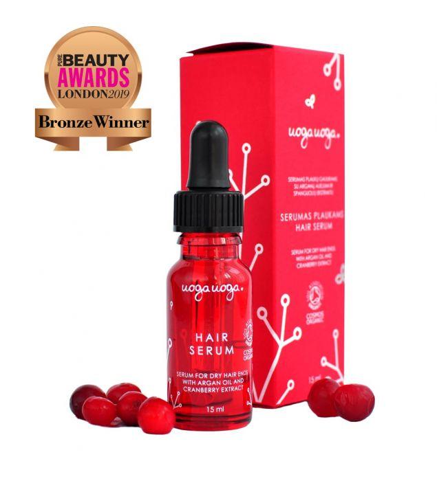 Hair serum | Repair line | Natural cosmetics | Uoga Uoga
