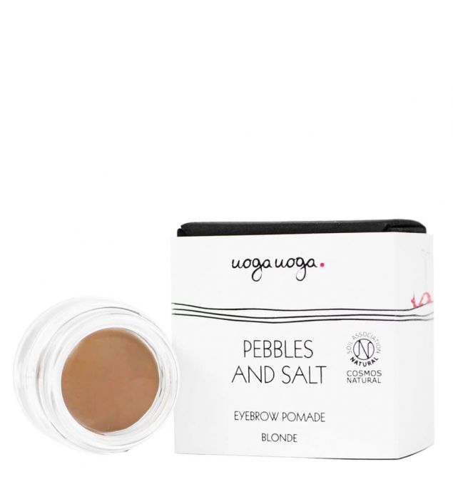 Pebbles and salt | Eyebrows | Natural cosmetics | Uoga Uoga