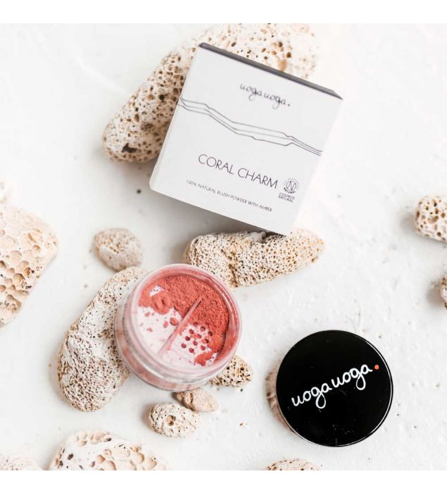 Coral charm | Mineral make-up ALL | Natural cosmetics | Uoga Uoga