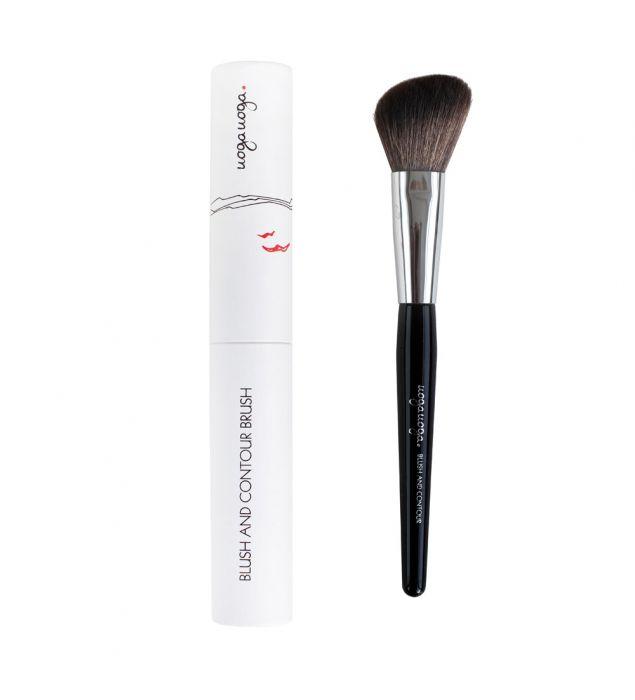 Blush and Contour brush | Contour | Natural cosmetics | Uoga Uoga