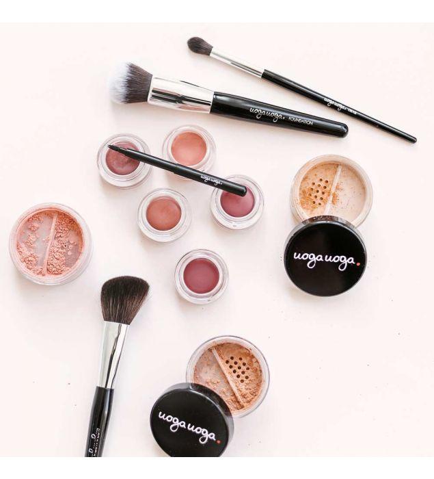 Blush and Contour brush   Contour   Natural cosmetics   Uoga Uoga