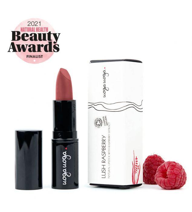 Lush Raspberry   Lips   Natural cosmetics   Uoga Uoga