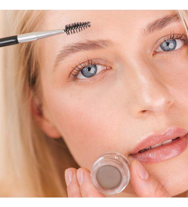 Eyebrow duo brush   Eyebrows   Natural cosmetics   Uoga Uoga