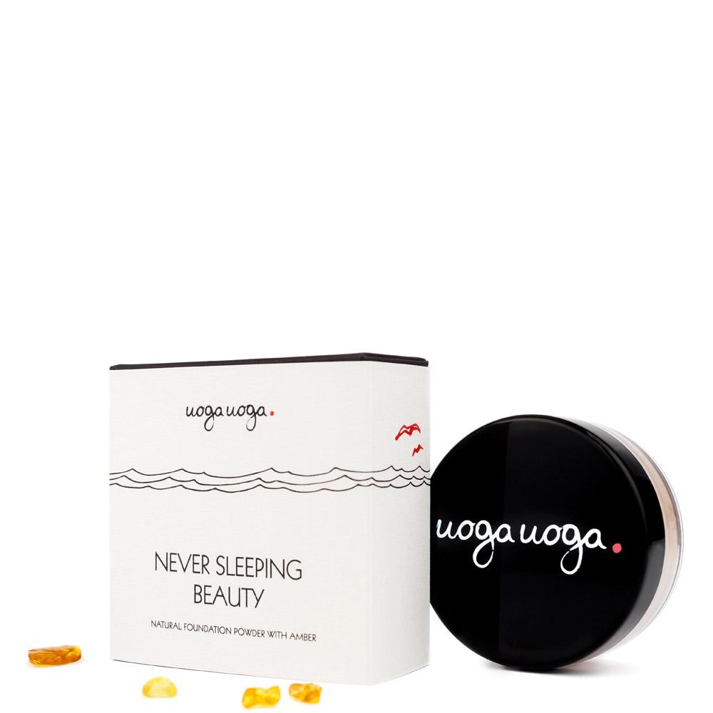 Never sleeping beauty | Foundation powders | Natural cosmetics | Uoga Uoga